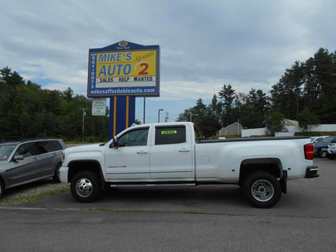 2015 GMC Sierra 3500HD for sale in Chichester, NH