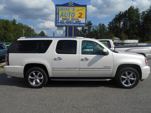 2012 GMC Yukon XL for sale in Chichester, NH