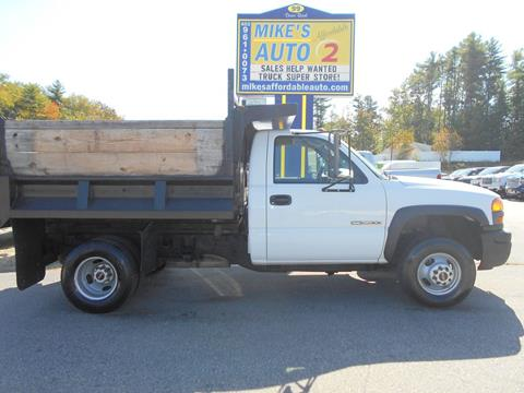 2005 GMC Sierra 3500 for sale in Chichester, NH