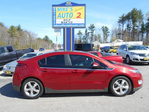 2012 Chevrolet Volt for sale in Chichester, NH