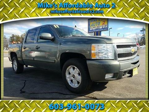 2011 Chevrolet Silverado 1500 for sale in Chichester, NH