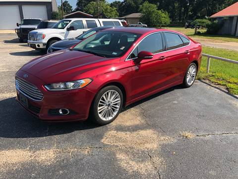 2014 Ford Fusion for sale in Gladewater, TX