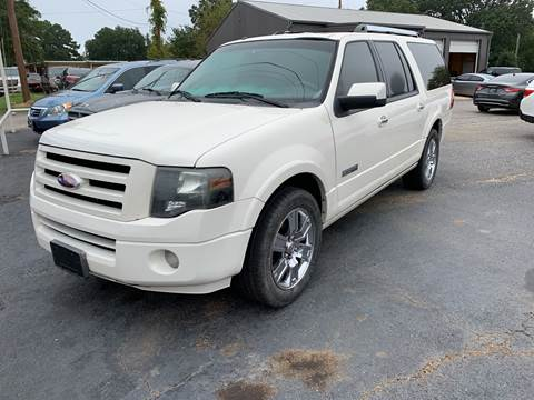 2008 Ford Expedition EL for sale in Gladewater, TX