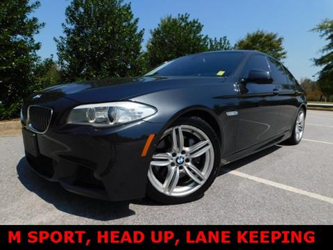 2013 BMW 5 Series for sale in Douglasville, GA