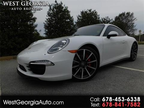 2013 Porsche 911 for sale in Douglasville, GA