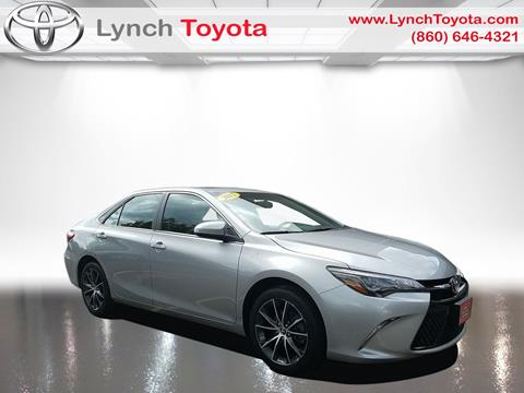 2015 Toyota Camry for sale in Manchester, CT
