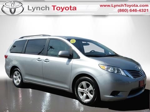 2015 Toyota Sienna for sale in Manchester CT