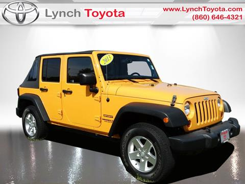 2013 Jeep Wrangler Unlimited for sale in Manchester CT