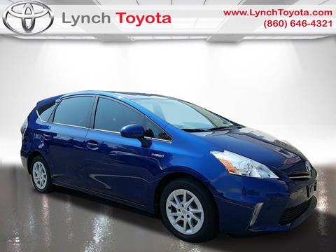 2012 Toyota Prius v for sale in Manchester, CT