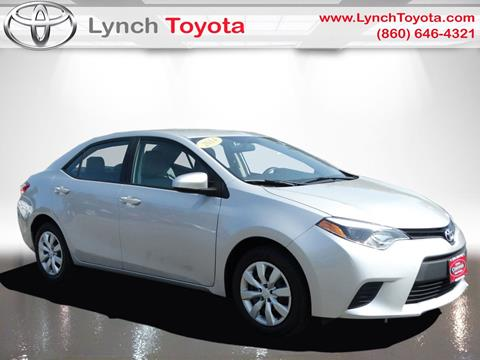 2014 Toyota Corolla for sale in Manchester CT