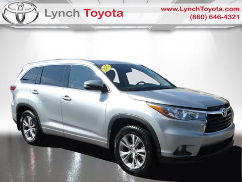 2015 Toyota Highlander for sale in Manchester CT