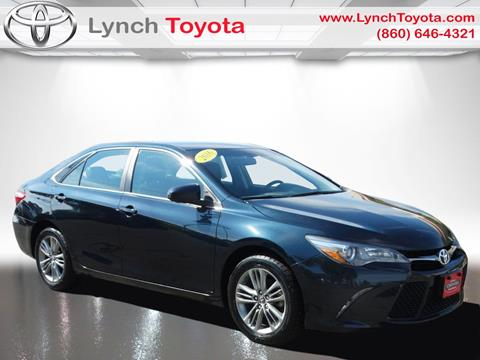2016 Toyota Camry for sale in Manchester CT