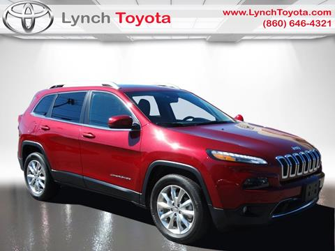 2014 Jeep Cherokee for sale in Manchester, CT