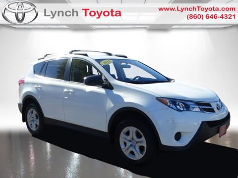2014 Toyota RAV4 for sale in Manchester CT