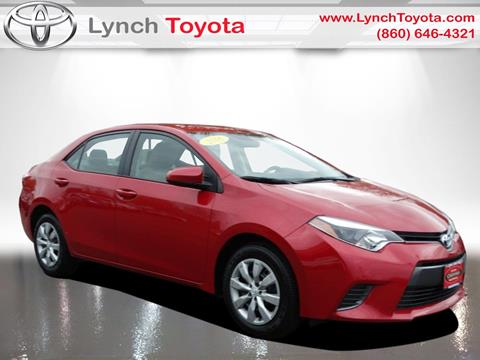 2016 Toyota Corolla for sale in Manchester CT