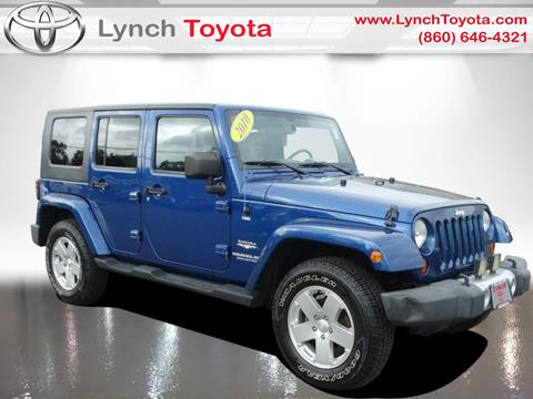 2010 Jeep Wrangler Unlimited for sale in Manchester, CT