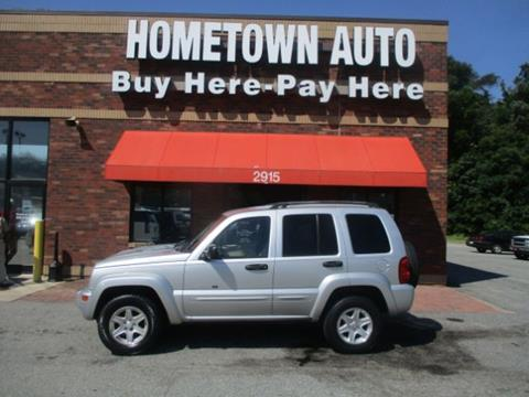 2002 Jeep Liberty for sale in High Point, NC