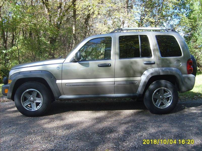 2005 jeep liberty 4x4 system
