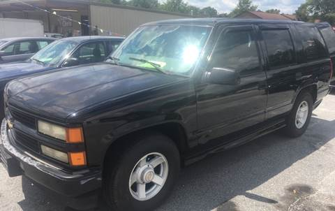 2000 Chevrolet Tahoe Limited/Z71 for sale in Greenwood, SC