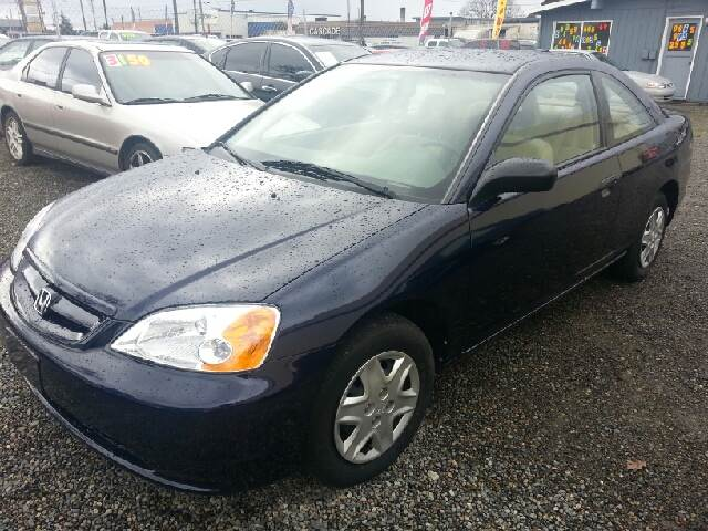 2003 honda civic dx 2dr coupe in tacoma wa import city. Black Bedroom Furniture Sets. Home Design Ideas