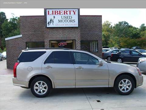 Cadillac for sale in clayton nc for Liberty used motors clayton clayton nc