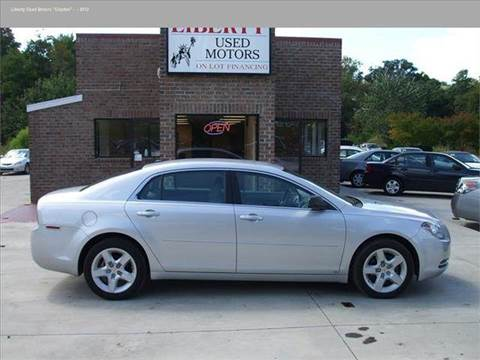 2009 chevrolet malibu for sale in north carolina for Liberty used motors clayton clayton nc
