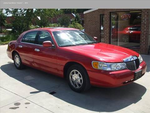 cars liusedcars savings best used for sale car from lincoln town
