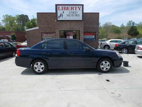2004 chevrolet malibu for sale in clayton nc for Liberty used motors clayton clayton nc