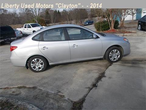 Hyundai elantra for sale in clayton nc for Liberty used motors clayton clayton nc