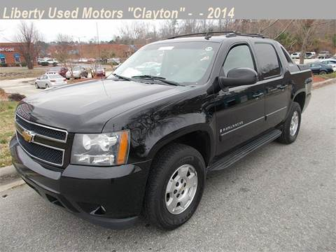 Used chevrolet trucks for sale in clayton nc for Liberty used motors clayton clayton nc
