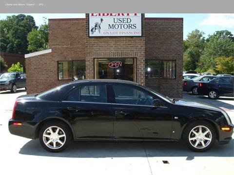 Cadillac sts for sale in north carolina for Liberty used motors clayton clayton nc