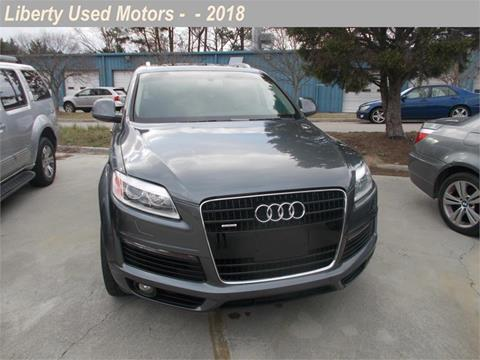 Used audi for sale in clayton nc for Liberty used motors clayton clayton nc