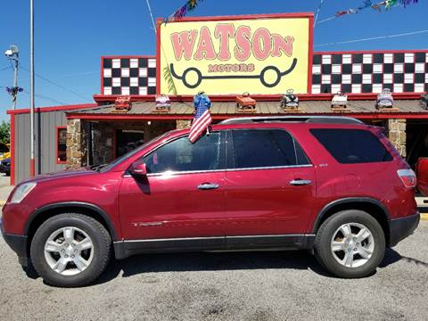 2007 GMC Acadia for sale at Watson Motors in Poteau OK
