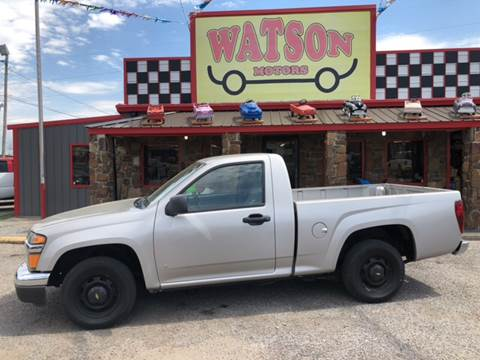 2006 Chevrolet Colorado for sale at Watson Motors in Poteau OK