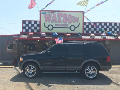 2005 Ford Explorer for sale at Watson Motors in Poteau OK