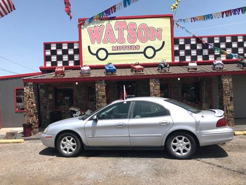 2002 Mercury Sable for sale at Watson Motors in Poteau OK