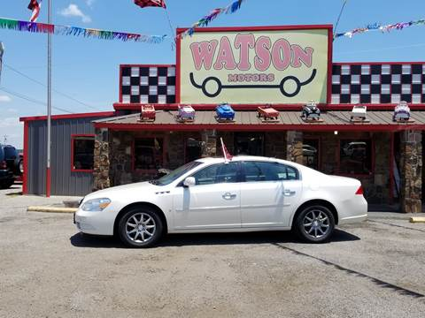 2008 Buick Lucerne for sale at Watson Motors in Poteau OK