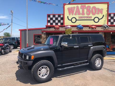 2007 HUMMER H3 for sale at Watson Motors in Poteau OK