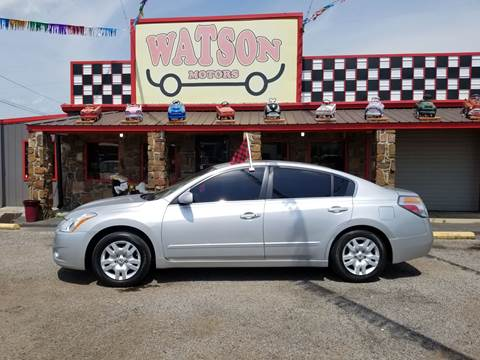 2012 Nissan Altima for sale at Watson Motors in Poteau OK
