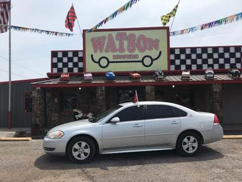 2009 Chevrolet Impala for sale at Watson Motors in Poteau OK