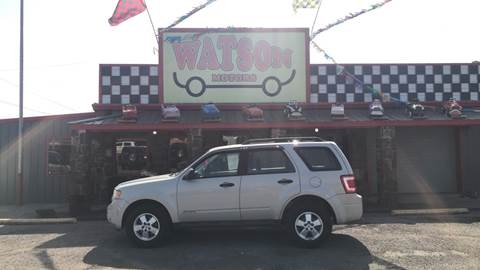 2008 Ford Escape for sale at Watson Motors in Poteau OK