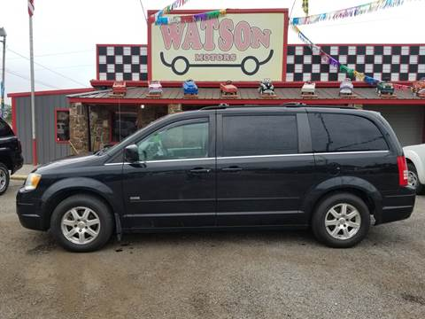 2008 Chrysler Town and Country for sale at Watson Motors in Poteau OK