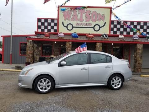 2010 Nissan Sentra for sale at Watson Motors in Poteau OK
