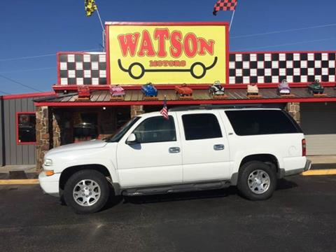 2003 Chevrolet Suburban for sale at Watson Motors in Poteau OK
