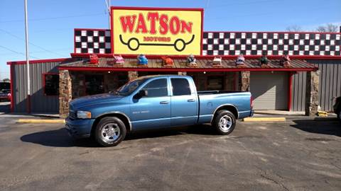 2002 Dodge Ram Pickup 1500 for sale at Watson Motors in Poteau OK