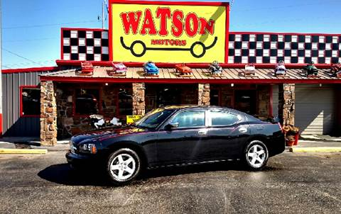 2010 Dodge Charger for sale at Watson Motors in Poteau OK