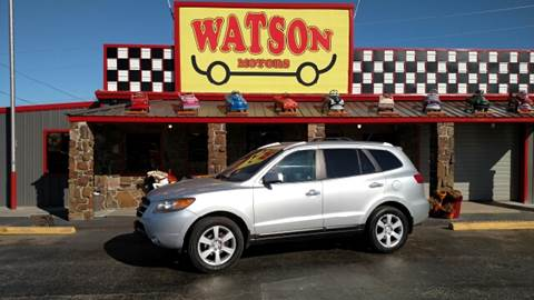2007 Hyundai Santa Fe for sale at Watson Motors in Poteau OK