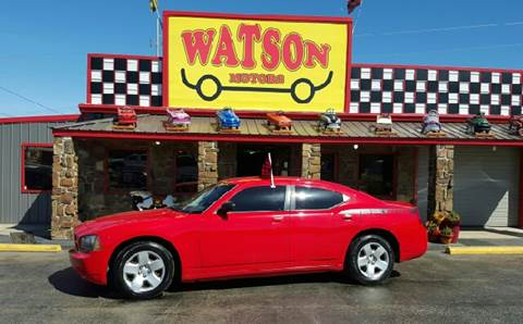2008 Dodge Charger for sale at Watson Motors in Poteau OK