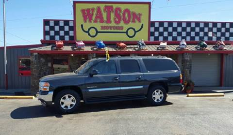 2006 GMC Yukon XL for sale at Watson Motors in Poteau OK