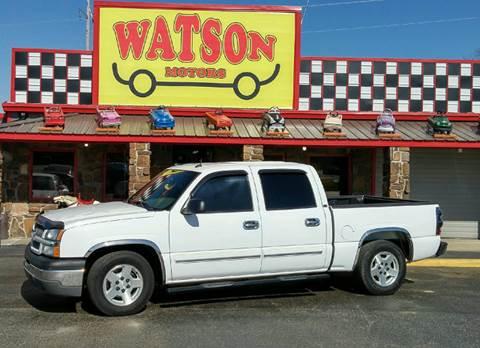2005 Chevrolet Silverado 1500 for sale at Watson Motors in Poteau OK